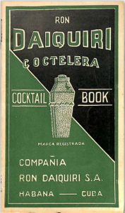 Ron Daiquirí Coctelera Cocktail Book (1948)
