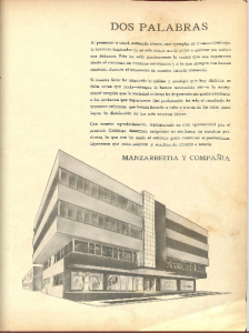 Manzarbeitia y Compania Cocktail Book (1959)