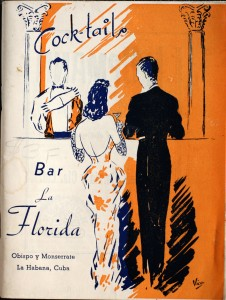 Cocktails: Bar La Florida by Constante Ribalaigua Vert  (1934, 1935, 1937, 1939)