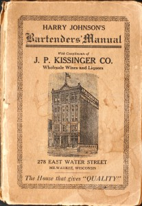Harry Johnson's Bartenders' Manual (1882, 1888, 1900, 1934)
