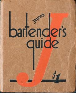 Jayne's Bartender's Guide (1934)