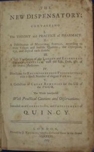 The New English Dispensatory by William Lewis (1753)